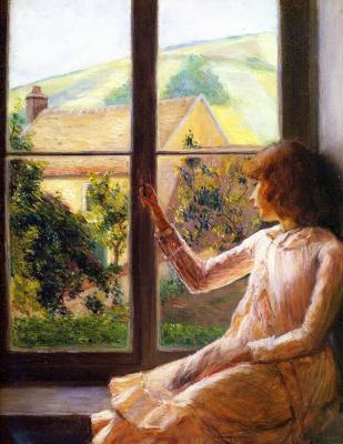 Лила Кэбот Перри. Девочка в окне