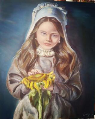"Olga Demina. ""Sun in hands"""