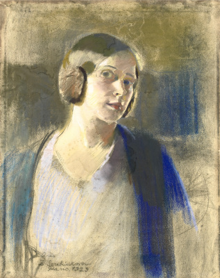 Zinaida Serebryakova. Anna