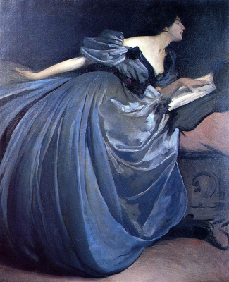 John White Alexander. Althea