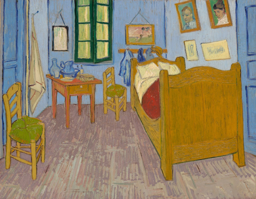 Винсент Ван Гог. Спальня в Арле (третий вариант)