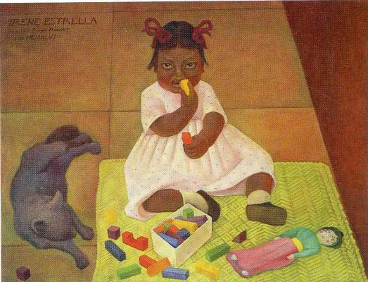 Diego Maria Rivera. Little girl