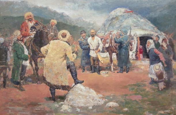 DANIAR JOLDOSHBEKOV. Арест токтогула