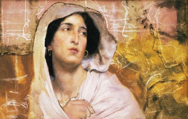 Лоуренс Альма-Тадема. Женский портрет