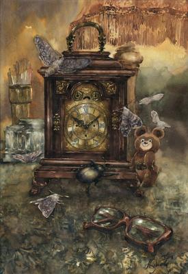 Анастасия Вячеславовна Карасева. Старинные часы