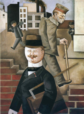 George Grosz. Gray day
