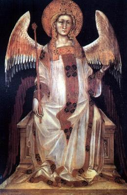 Гваренто ди Арпо. Сидящий ангел