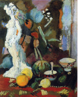 Henri Matisse. Dishes and melon