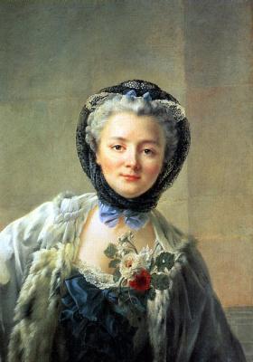 Франсуа Юбер Друэ. Мадам Друэ — жена художника