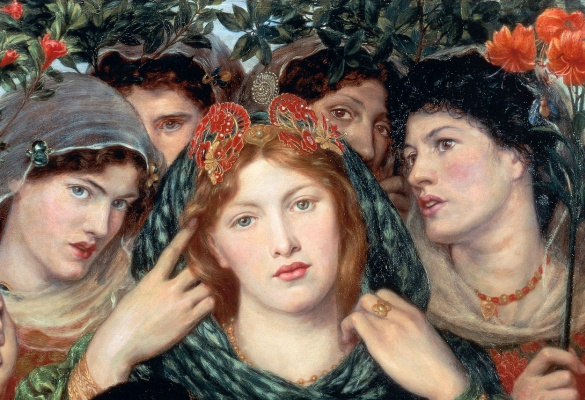 Dante Gabriel Rossetti. Beloved (The Bride). Fragment
