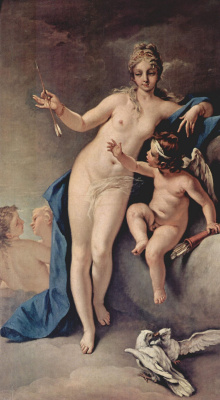 Себастьяно Риччи. Венера и Амур