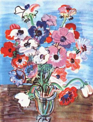 Raoul Dufy. Colorful bouquet
