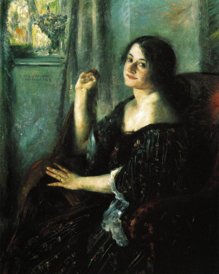 Lovis Corinto. Portrait Of Charlotte Berend