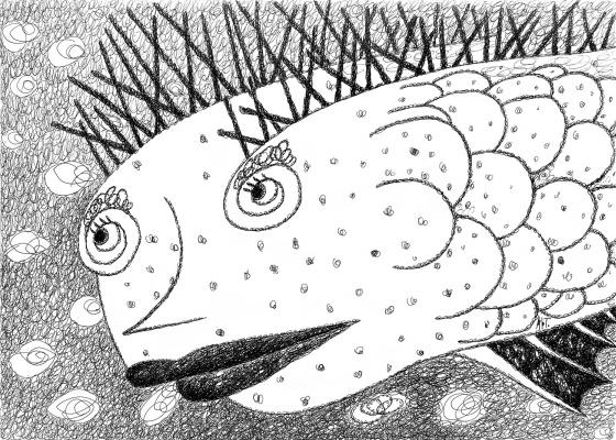 Артем Терсков. Шипастая Рыба