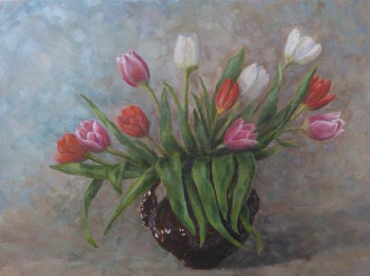 Елена Гришанова. Тюльпаны