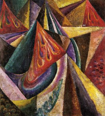 Александр Константинович Богомазов. Abstract composition