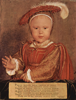 Портрет Эдуарда VI в младенчестве