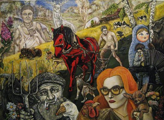 Andrey Trifonov. The Farmer Diма Aglow