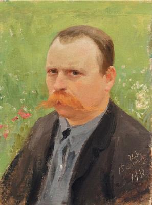 Иван Алексеевич Владимиров. Автопортрет