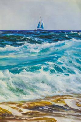 Daria Feliksovna Lagno. Three colors of the sea