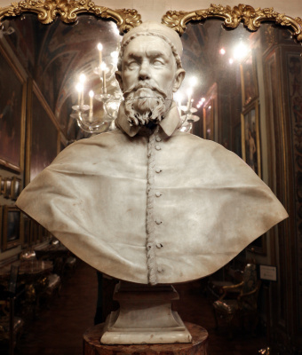 Gian Lorenzo Bernini. Pope innocent X (first version)