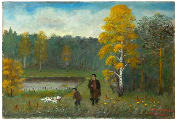 Alexander Vasilyevich Suvorov. Duck hunting