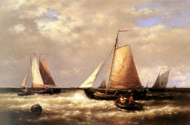 Авраам Халк. Лодка