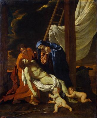 Никола Пуссен. Снятие с креста