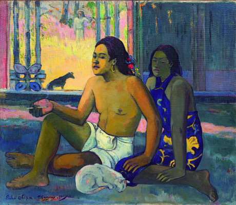 Paul Gauguin. Don't work (the Tahitians in a room)
