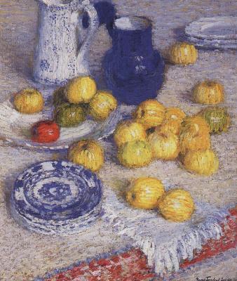 Igor Grabar. Apples