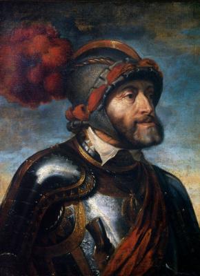 Portrait of Emperor Charles V