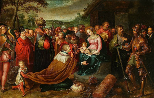 Frans Franken the Younger. The Adoration of the Magi