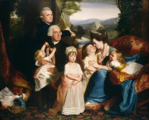 John Singleton Copley. Portrait of the Copley family