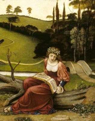 John Roddem Spencer-Stanhope. Tender music of the past. Fragment
