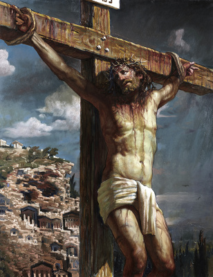 Sushienok64 @ mail.ru Mikhailovich Sushenok Igor. Crucifixion of Jesus Christ.