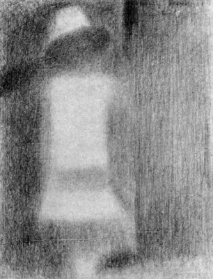 Georges Seurat. Baby in white