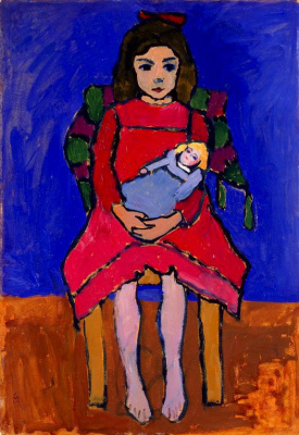 Girl with a doll II