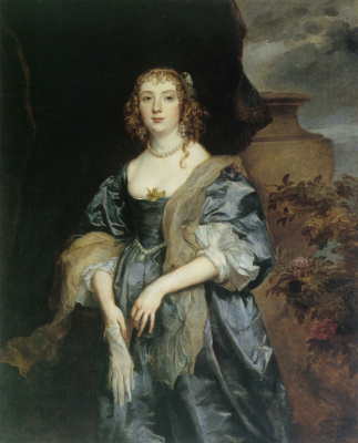 Anthony van Dyck. Anne Carr, Countess of Bedford
