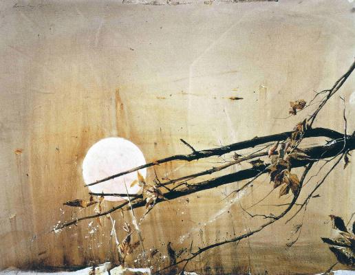 Эндрю Уайет. Полная луна