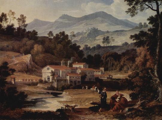 Монастырь Сан Франческо в Сабинских горах близ Рима