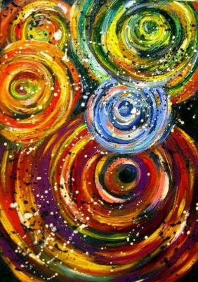 Ксения Виноградова. Sabbath galaxies