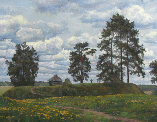 Oleg Borisovich Zakharov. May on Savkina hill. Michael.