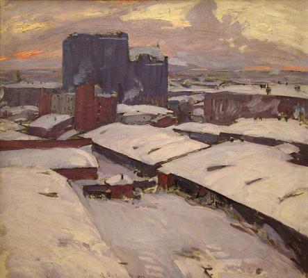 Abram Arkhipov. Moscow yards