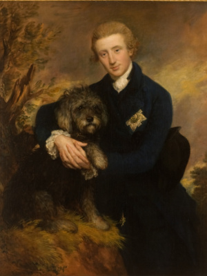 Thomas Gainsborough. Portrait of Henry, 3rd Duke Buckley and 5th Duke of Queensberry
