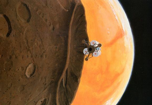 William Hartmann. On Mars
