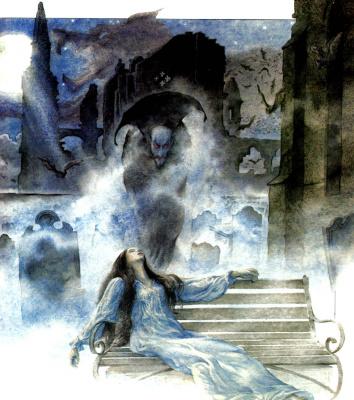 Тудор Хамфрис. Люси встречает графа Дракулу в аббатстве Карфакс