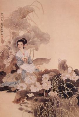 Пэн Лиан Сюй. Китаянка 28
