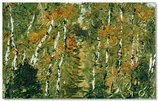 Anatoly Zverev. Birch grove