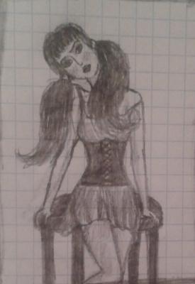 Zina Vladimirovna Parisva. Broken doll