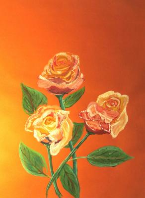 Nikolai Nikolaevich Olar. Roses